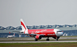 エアアジアのAirAsia-A320型機