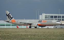 ジェットスター航空のA321型機