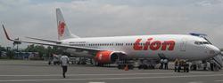ライオン・エアのB737-900型機