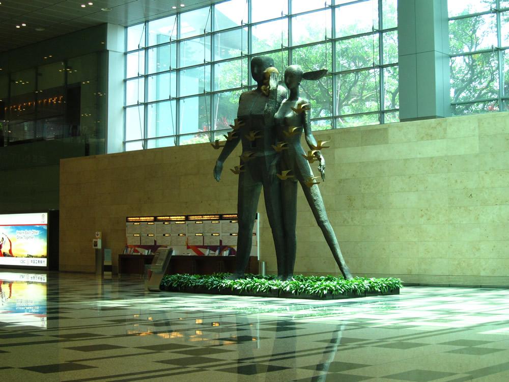 チャンギ空港①