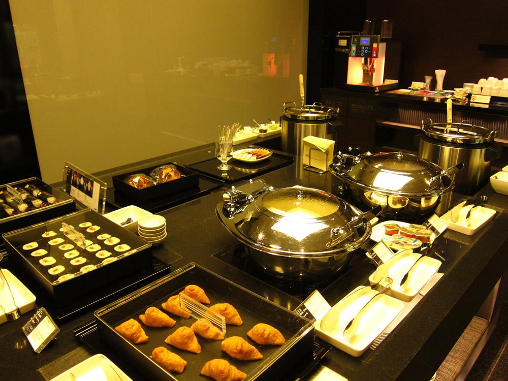 ビュッフェで提供されている朝食①