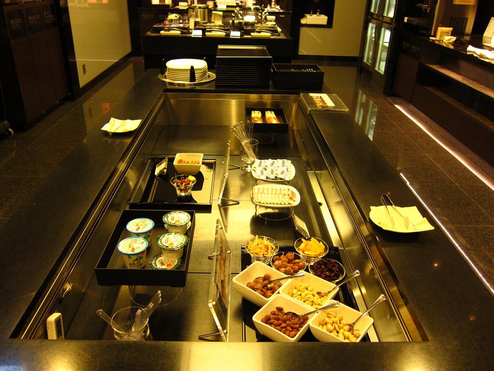 ビュッフェで提供されている朝食②