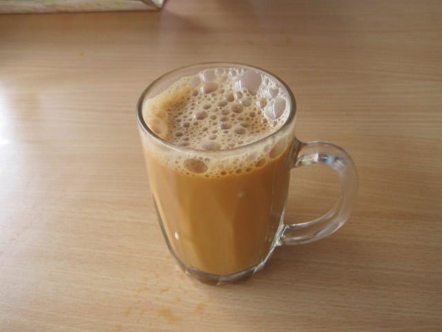 テ・タリ・ショップのミルクティー